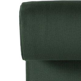 Grobripp Bündchen «Dunkel Grün»
