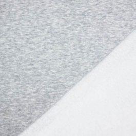 Alpen Fleece Sweat «UNI Hellgrau Meliert»
